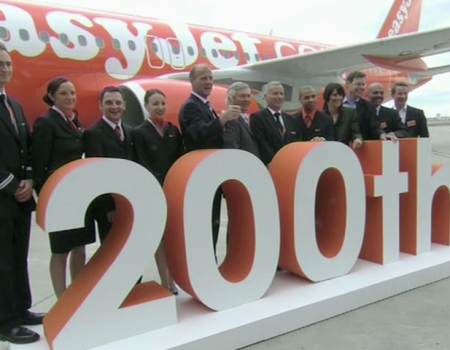 Easyjet – 200ème Airbus